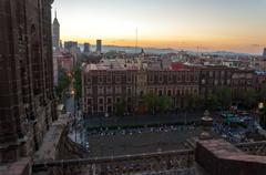 Mexico City Zocalo Stock Photos
