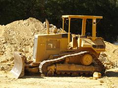 Stock Photo of bulldozer