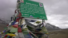 Baralachala Stock Footage