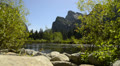 Yosemite LM05 Valley View Merced River Bridalveil Fall HD Footage