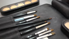 Make-up Stock Footage
