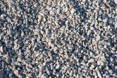 Small stones on  construction site Stock Photos