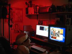 Puppet Editing - stock photo