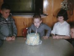 Birthday Party Billy Stock Footage