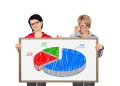 Two businesswoman Stock Photos
