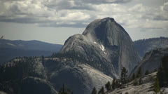 Yosemite LM34 Olmsted Pt Half Dome Stock Footage
