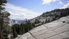 Yosemite LM38 Dolly Circular L Olmsted Point Stock Footage