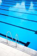 Outdoors swimming pool Stock Photos