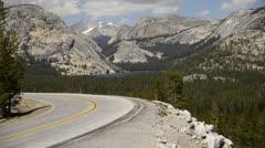 Yosemite LM42 Olmsted Pt Teneya Lake Stock Footage