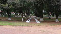 The reduction  Santa Maria de Fe in Paraguay Stock Footage