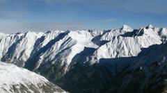 Mountain landscape time lapse Stock Footage