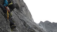 Stock Video Footage of alpine climbing chamonix 2