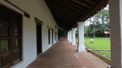 The reduction San Ignacio Guazu in Paraguay - stock footage