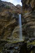 gollorio cascade, guadalajara, spain - stock photo