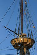 Main Mast Top - stock photo