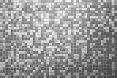 mosaic tile wall - stock illustration