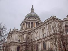 Stock Photo of st paul cathedral london