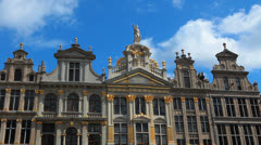 Belgium, Grand-Place - Brussels 8 Stock Footage