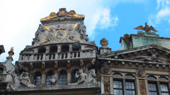 Belgium, Grand-Place - Brussels 14 Stock Footage