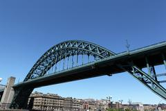Tyne Bridge, Newcastle Upon tyne - stock photo