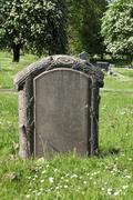 Blank Tombstone Stock Photos