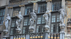Belgium, Grand-Place - Brussels 17 Stock Footage