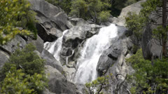 Yosemite LM51 Cascade Falls Upper Stock Footage