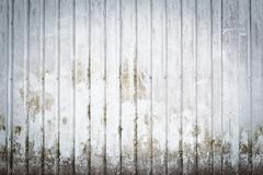 Metallic dirty wall - stock photo