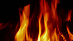 Fire flames. Stock Footage