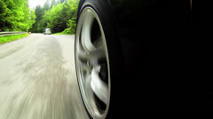 Speed car race Stock Footage
