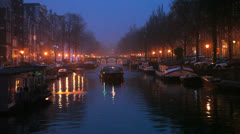 Amsterdam - Canal 4 - stock footage