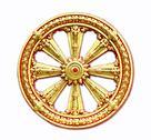 Thammachak wheel Stock Photos