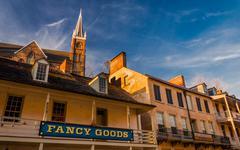 Historic buildings in harper's ferry, west virginia. Stock Photos