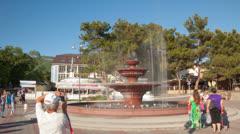 Fountain timelapse 4K Stock Footage