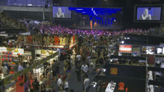 SEXPO (Adult entertainment) 36 timelapse Stock Footage