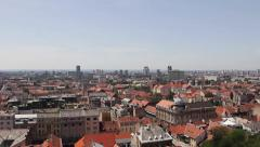 The Lostrčak Tower View Stock Footage