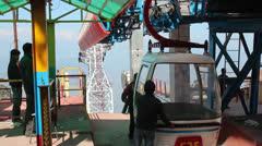 Cableway Darjeeling Stock Footage