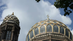 Neue Synagogue, Berlin Stock Footage