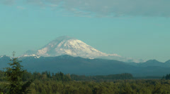 Mt. Rainer in the summer timelapse.mp4 Stock Footage