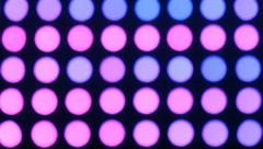 Colourful lights. Stock Footage