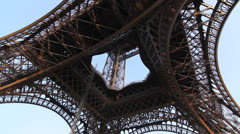 Eiffel Tower. Stock Footage