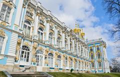 Catherine palace, russia Stock Photos