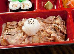 Japanese bento lunch Stock Photos