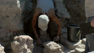 Stock Video Footage of Noviodunum Archaeological Project