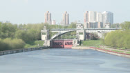 Stock Video Footage of gateway at the river