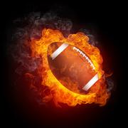Football Ball Stock Illustration