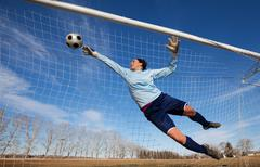 goalie - stock photo