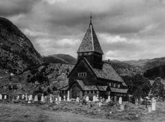 WW2 - Alp Church Stock Photos