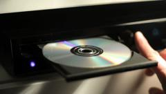 CD player - stock footage