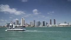 San Diego Skyline 4K WS Stock Footage